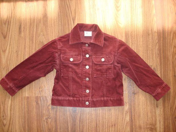 Курточка вельветовая р. 92-98