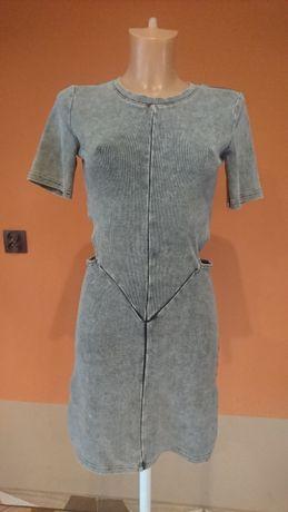 Nowa sukienka DIVIDED z wycięciami S M