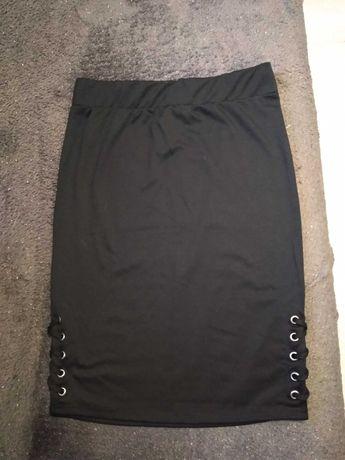 Spódnica czarna XL