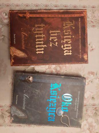 """Księga bez tytulu"" ""oko księżyca"" książki"