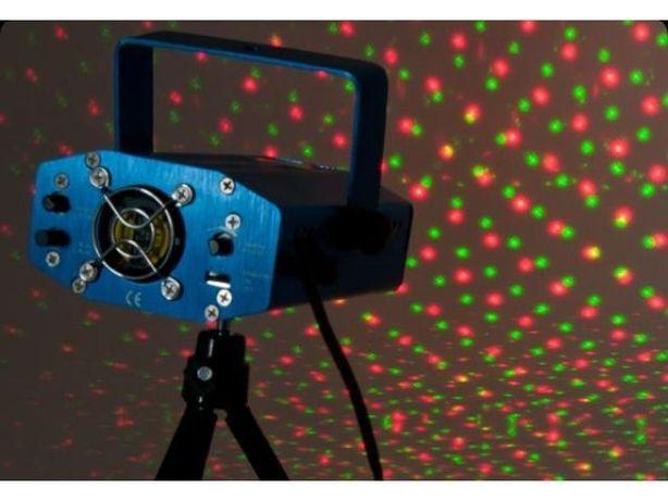 Laser dyskotekowy stroboskop