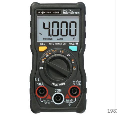 Мультиметр RICHMETERS RM404B тестер малогабаритный