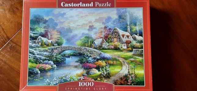 Przepiękne puzzle Castorland różne do wyboru