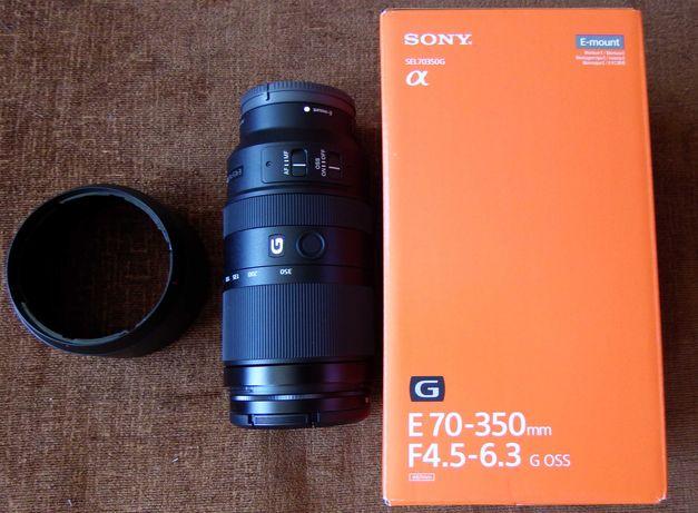 Teleobiektyw Sony E 70-350mm F4.5-6.3 G OSS