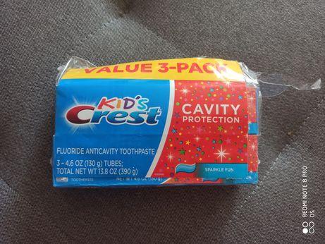 Детская зубная паста Crest Крест