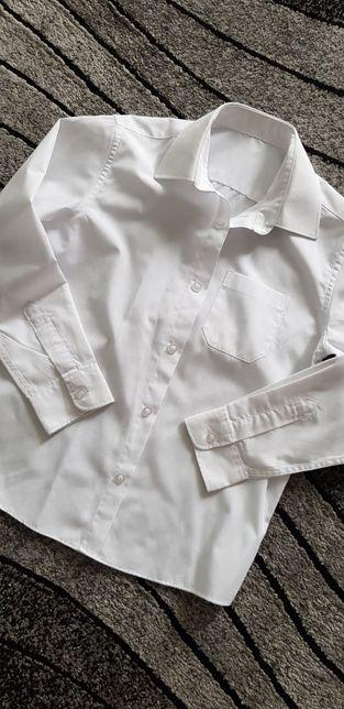 St.Bernard koszula biała galowa 9-10lat r.140 jak nowa