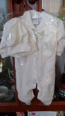Крестильный костюм летний