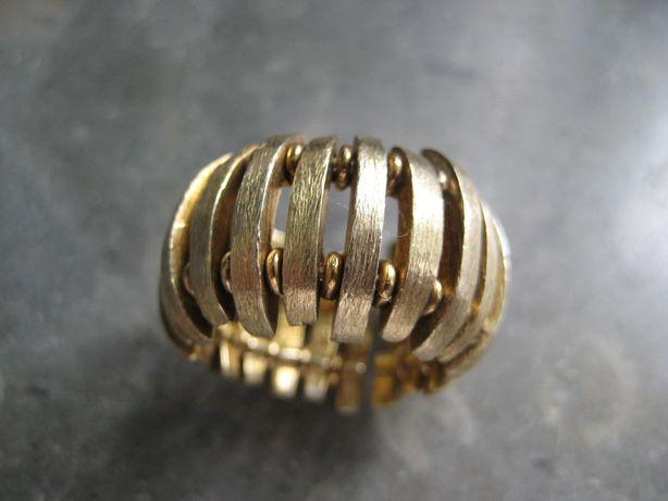 Anel prata dourada(nunca usado)