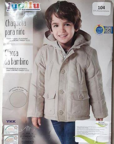 Теплая куртка от Lupilu.
