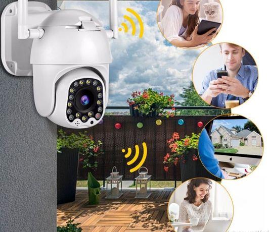 Уличная камера Besder BES-P17B поворотная 1080 Led +сигналиция