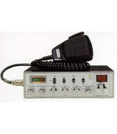 Rádio cb e antena