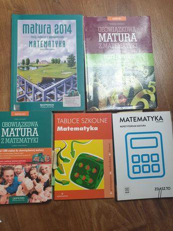 Reperytoria maturalne, matematyka