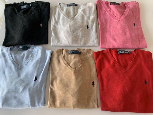 Camisolas em bico RALF LAUREN - originais Tamanho S