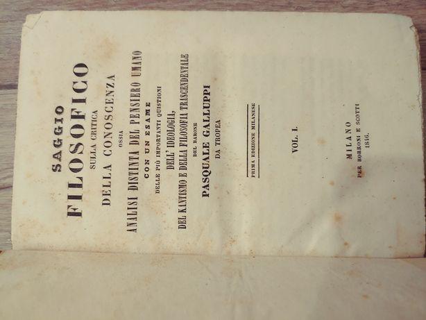 Книги антикварные, итальянский