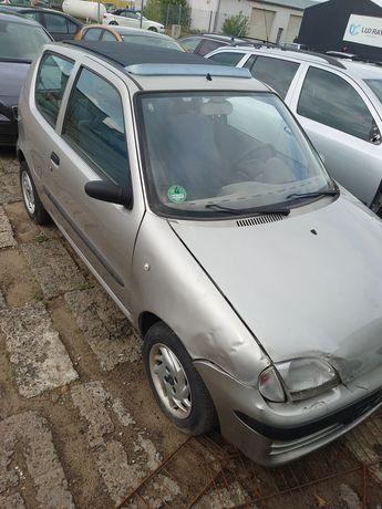 Fiat Seicento falldach i 126p