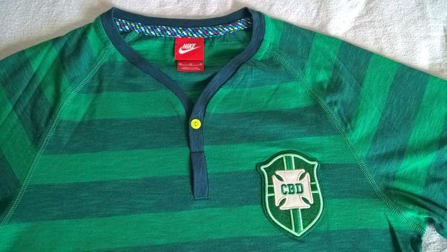Camisola NIKE Oficial  da Confederação Brasileira de Desportos - NOVO.