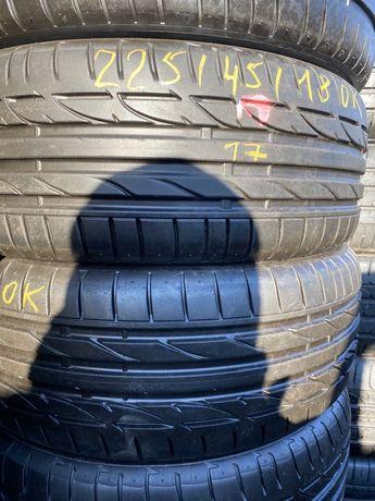 резина 225/45/18 и 255/40/18 Bridgestone , Runflat