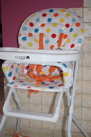 Krzesełko do karmienia Cuggl, składane