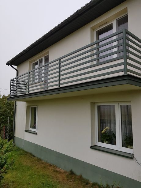 Balustrada balkonowa metalowa stalowa