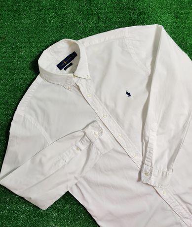 Koszula Polo Ralph Lauren biała nowa kolekcja wizytowa