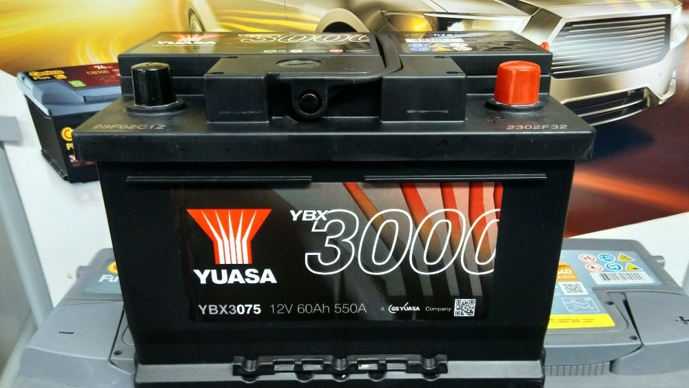 Akumulator YUASA YBX3075 12V 60Ah 550A P+ Ford Kraków Kraków - image 1