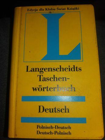 Słownik niemiecko-polski, polsko- niemiecki  Langenscheidts