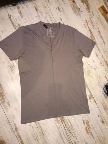 T-shirt męski szary H&M, rozm.XL