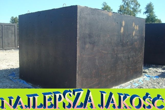 Szambo betonowe 12m3 SZAMBA zbiornik na wodę kanał betonowy, zbiorniki