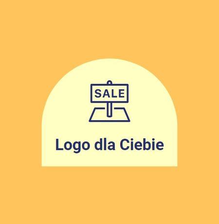 Grafik Logo projekt dla firmy, na social media TANIO