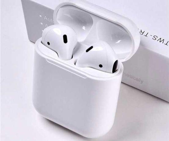 Słuchawki bezprzewodowe  Bluetooth,białe,Powerbank- i12 TWS DOTYKOWE
