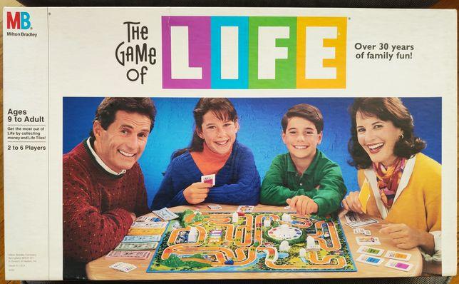 Gra w Życie planszowa USA The Game of Life jak nowa 1991 Unikat