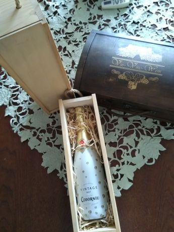 Skrzynka prezentowa na wino.