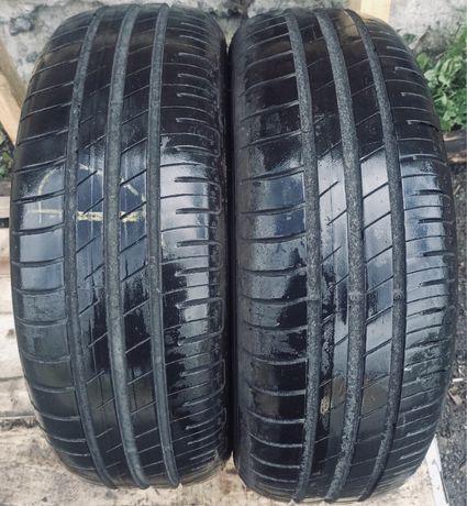 Goodyear 195/65r15 2 пара шт лето резина шины б/у склад