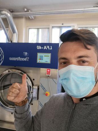 Aluguer de Máquina de lavar roupa 45kg hospitalar ou residência sénior