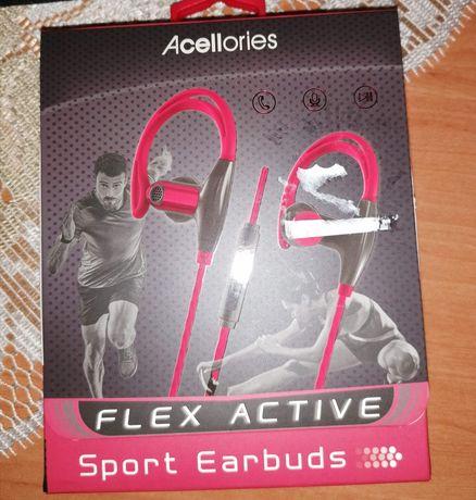 Acellories Flex Active ze sportowymi słuchawkami dousznymi