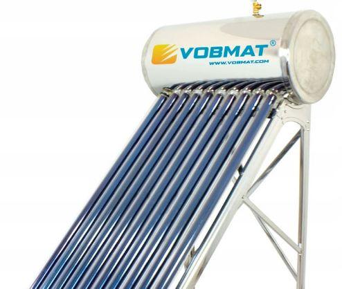 Kolektor słoneczny ciśnieniowy HEAT PIPE 200L, stal nierdzewna