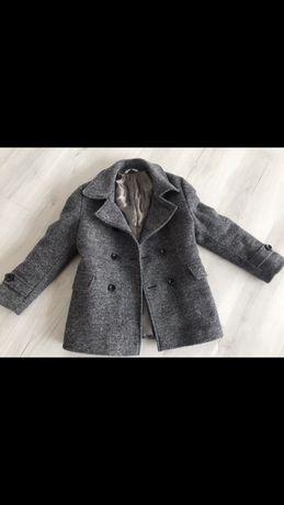 Продаю стильное серое пальто