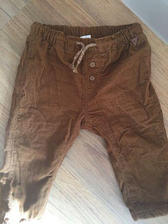 Spodnie h&m rozm 74