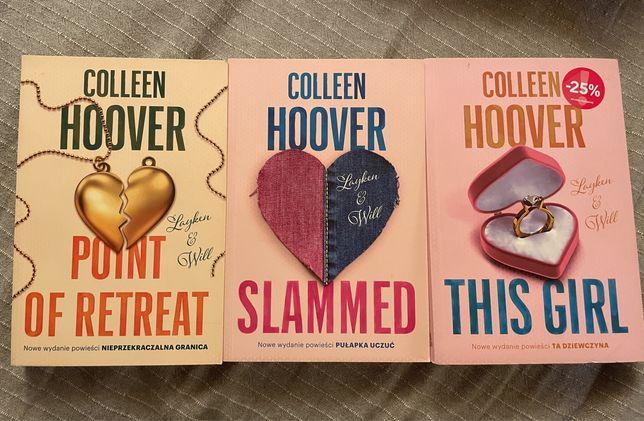 Książki Colleen Hoover*slammed*point of retreat*this girl*