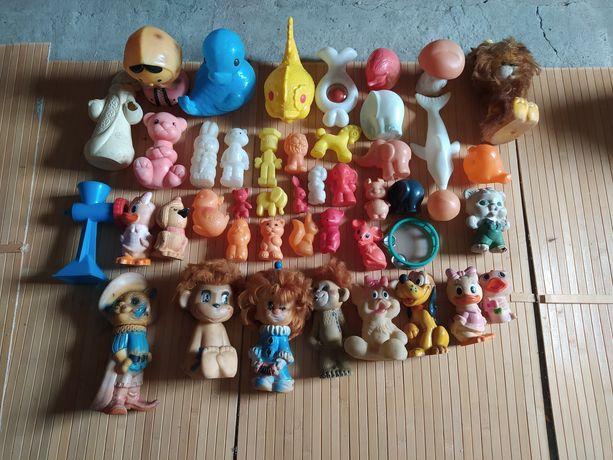 Продам игрушки разные времён СССР одним лотом
