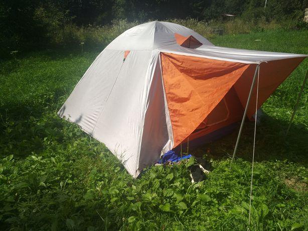 палатка 3-4местная двойная