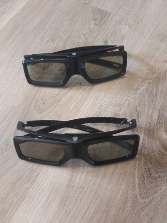 Okulary 3d do tv Sony. 2 pary