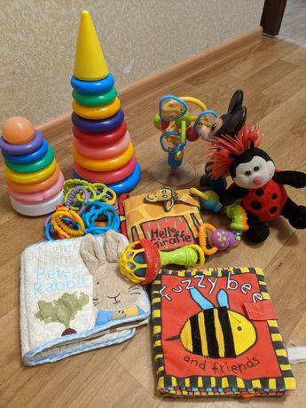 Детские книжки пирамидки игрушки