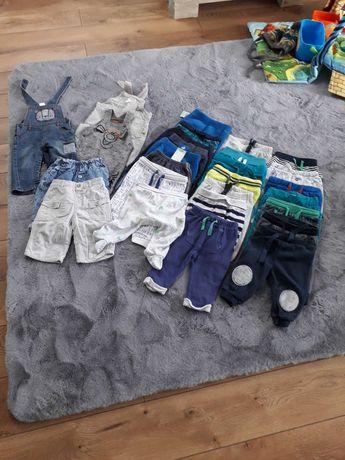 Zestaw spodni chłopiec 68