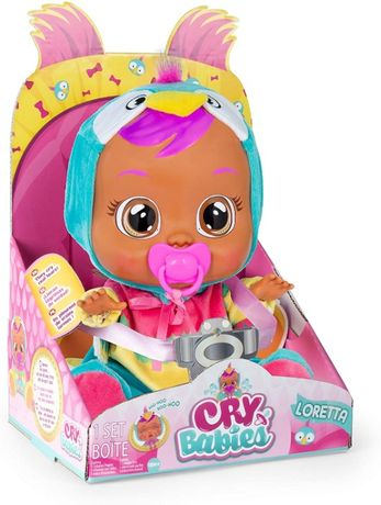 ОРИГИНАЛ! Кукла Край беби Cry Babies Плачущий пупс Лоретта Loretta