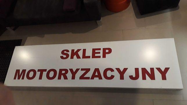 """Reklama , szyld plafon """" Sklep motoryzacyjny """" hurtownia motoryzacyjna"""