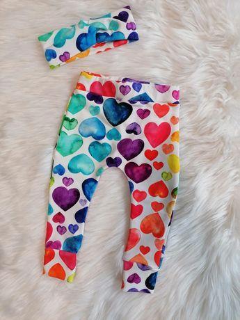 Nowe spodnie haremki handmade
