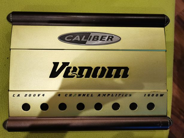 Wzmacniacz Caliber Venom CA 200 V4 + gratisy