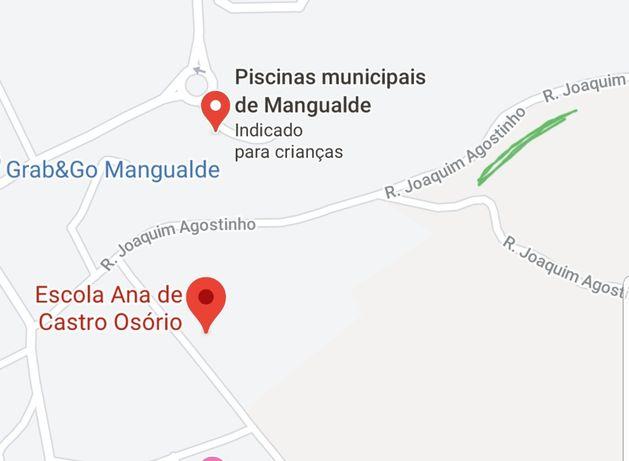 Vende-se terreno urbano Cidade Mangualde - distrito Viseu