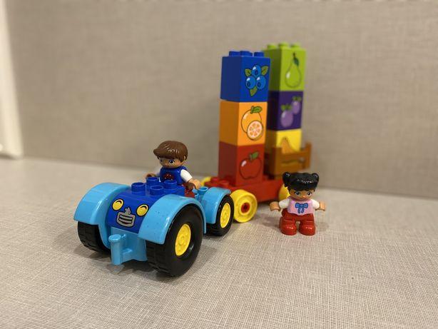 Продам Lego трактор с фруктами